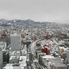 Towards the West.<br /> From the JR Sapporo Building.