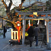 Approaching the Shrine.<br /> Tatsumi Shrine in Shirakawa minami dori, Gion, Kyoto. Is apparently a good place to spot Geisha coming to pray.