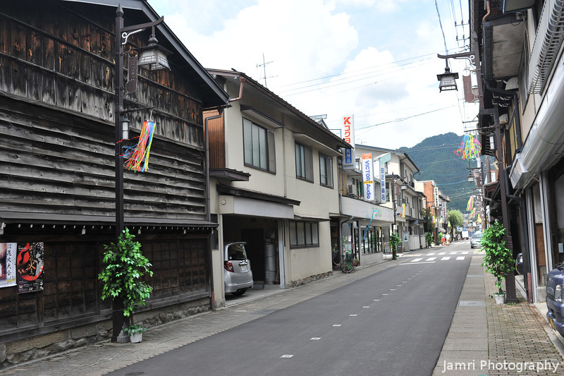 The Quiet Streets of Hida Furukawa town.<br /> Nice little town with lots of historical buildings, friendly locals, not too touristy, and none of the badness of the bigger Japanese cities.