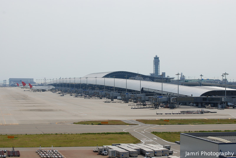 Kansai Airport Terminal Building.