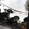 A View of a Shinto Shrine.<br /> Near Keihan Yodo Station, Fushimi ward, Kyoto city.