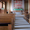 Down the Aisle.<br /> In the Anglican-Episcopal Church in Nara.