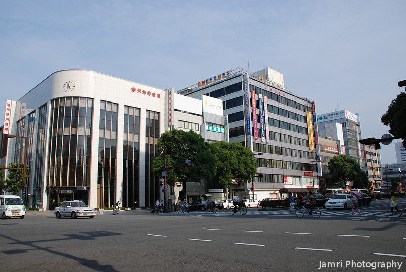 An intersection in Himeji.