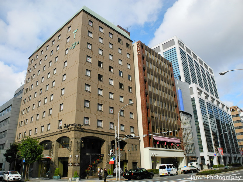 Colourful Buildings in Kobe.