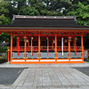 Shrine Building.<br /> At Fushimi Inari-taisha.