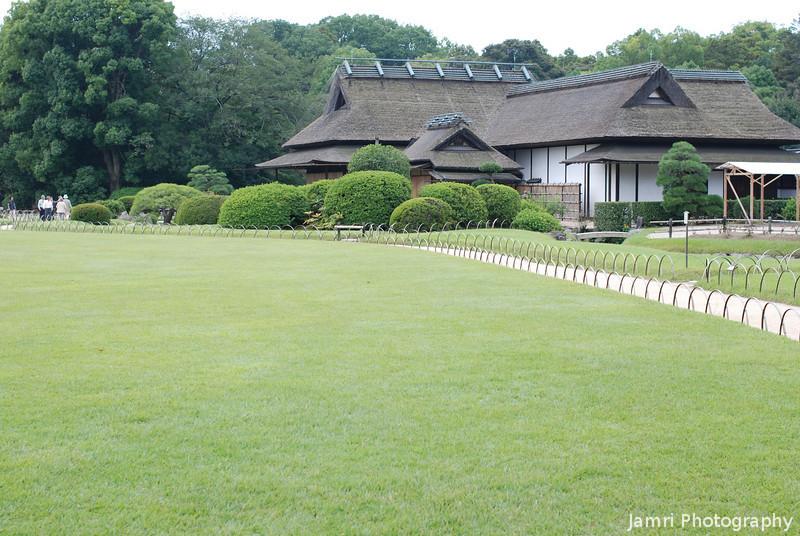 Traditional House.<br /> At Korakuen, Okayama.