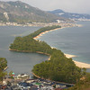 A close up of Amanohashidate.<br /> Considered one of the three best views in Japan.