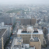 The view to the west.<br /> From the Kyoto Tower.