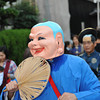 Buddha?<br /> Part of the section of the parade representing one of Nagaokakyo's sister cities: Ningbo in China.
