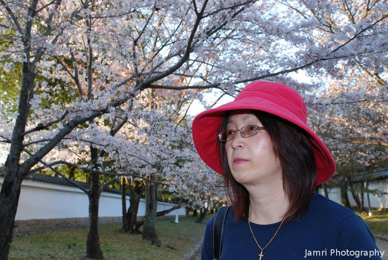 """Hanami"" Ritsuko.<br /> ""Hanami"" means Sakura watching."