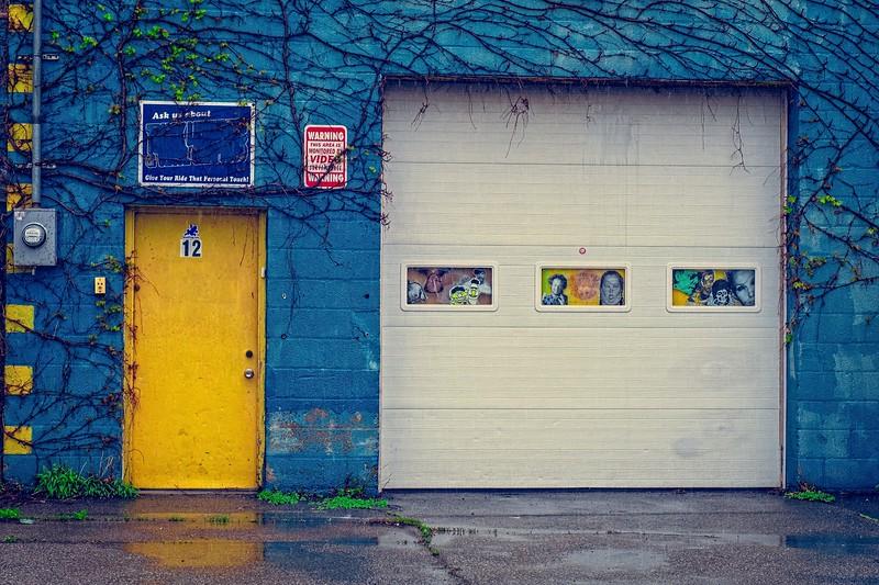 Yellow Door #12