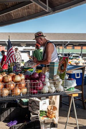 The Onion Vendor (Color)