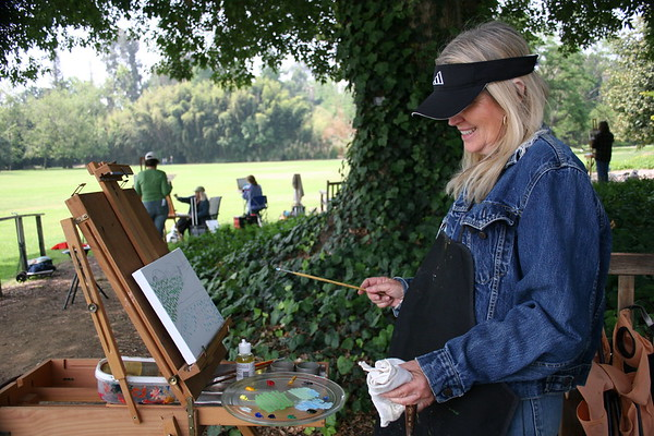 Artists at the Arboretum
