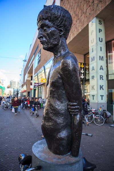 Mansportret - pedestal art