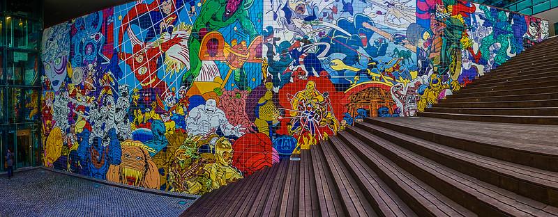 Portugal Cartoon Mural Photography 2 By Messagez com