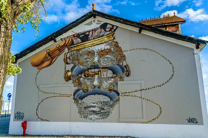 Lisbon Street Art Photography Part 7b By Messagez.com