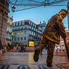 The Flying Man 3 Best Lisbon Street Art Photography By Messagez.com