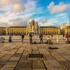 Lisbon Street Art Center Square Photography By Messagez com