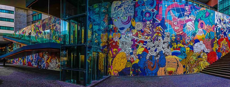 Portugal Cartoon Mural Photograph By Messagez com