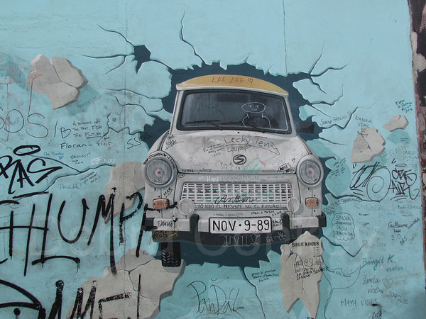 Breaking Free, Berlin Wall, Germany