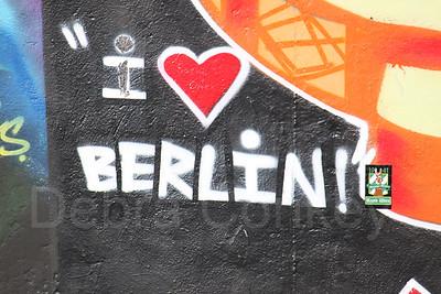 I Love Berlin, Berlin Wall, Germany