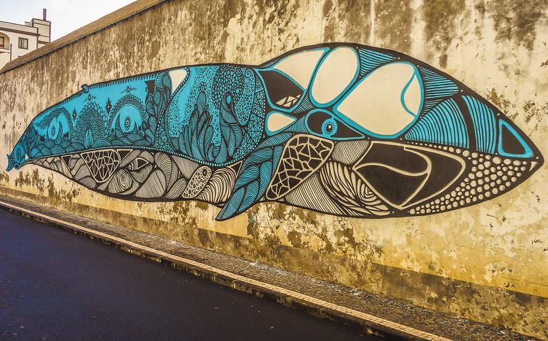 Original Street Art Whale Photography By Messagez com