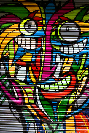 Street Art Faces