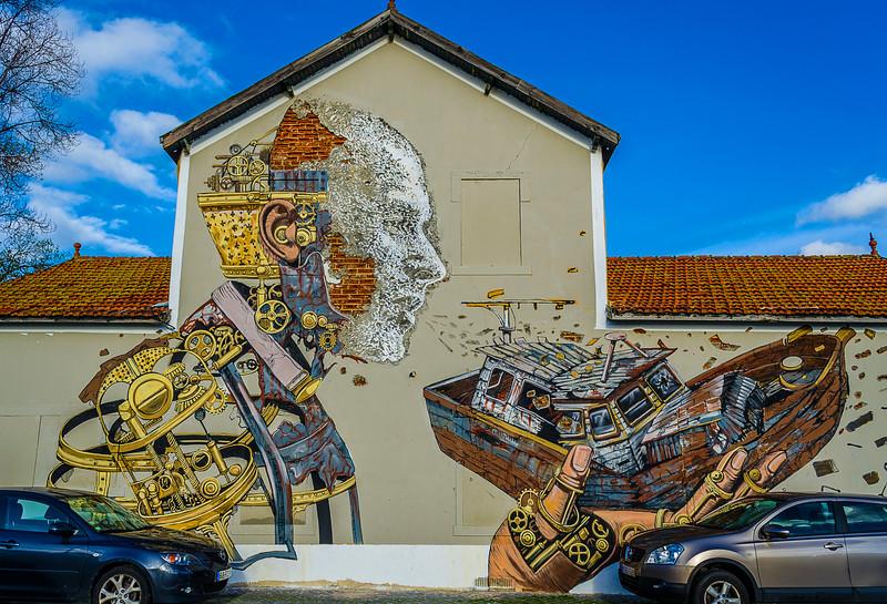 Lisbon Street Art Photography Part 7a By Messagez.com