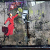 Mary Poppins, London Street Art, 2010.