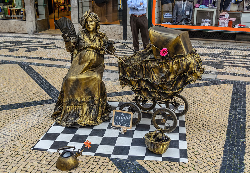 Life is Magical - Lisbon Street Art Photography By Messagez.com