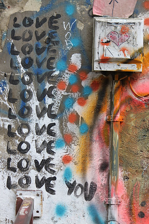 Love, Street Art, Berlin, Germany