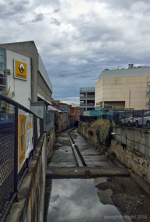 Hobart Rivulet from Barrack Street