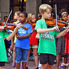 Children at Lynchburg City Schools Strings played beautifully.