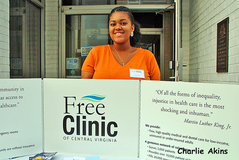 The Free Clinic Of Central Virginia was represented at the event.