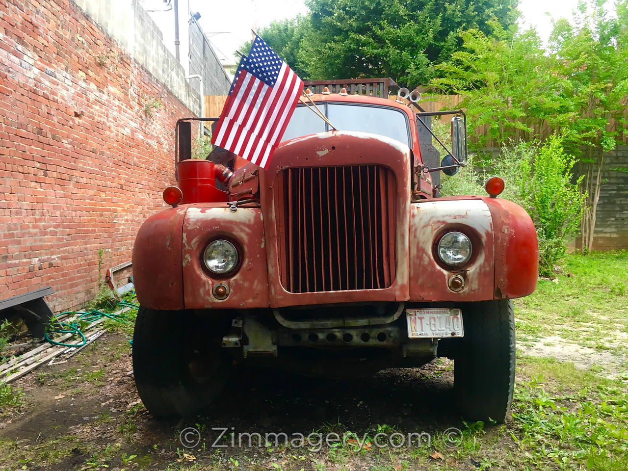 Red Truck in America, South Carolina