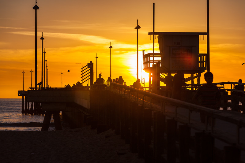 Venice Beach Lifeguard Tower, California