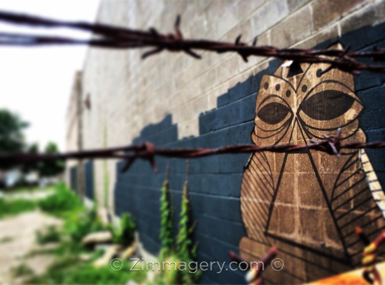 Grafitti in New Orleans