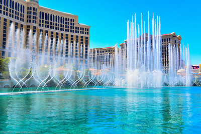Las Vegas: Strip - Bellagio Fountains