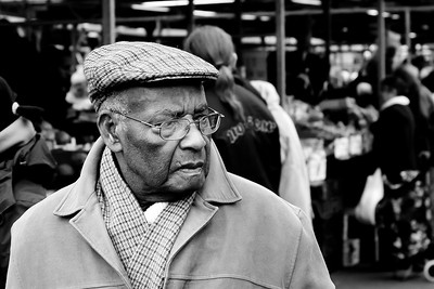 How much! A customer at the Bullring Outdoor Market.