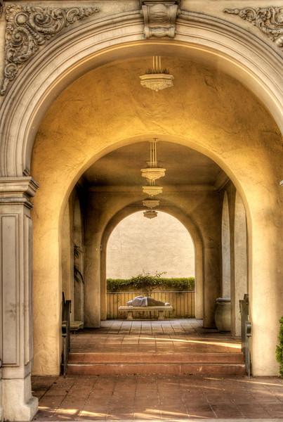 Balboa Park, San Diego.  HDR.