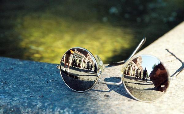 Street Reflections.