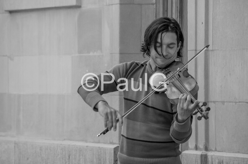 Violin in Geneva