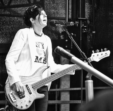Bass Player.  Munich.