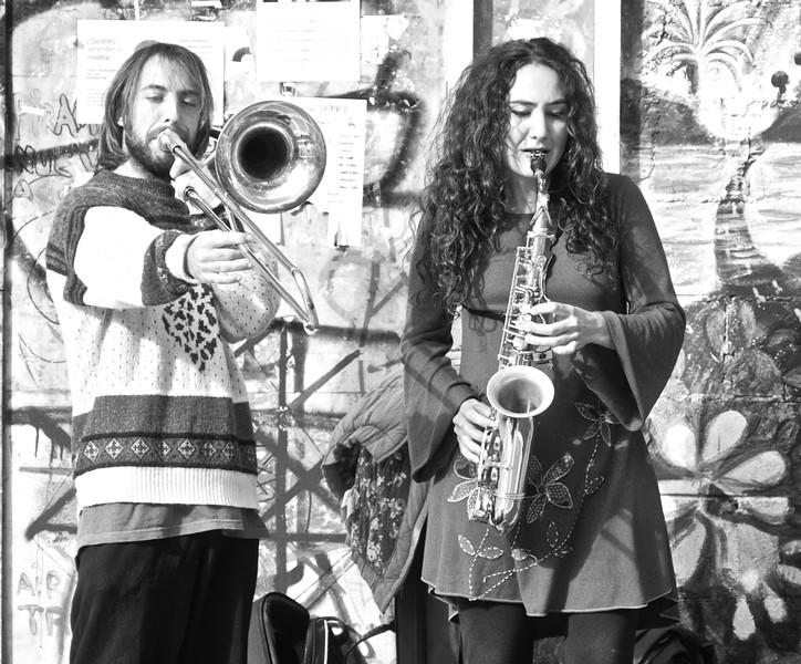 Jazz Musicians.  Granada.