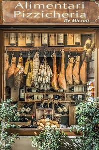 Delicatessen, Sienna, Italy