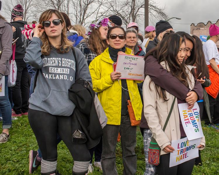 Oakland Women's March 2017