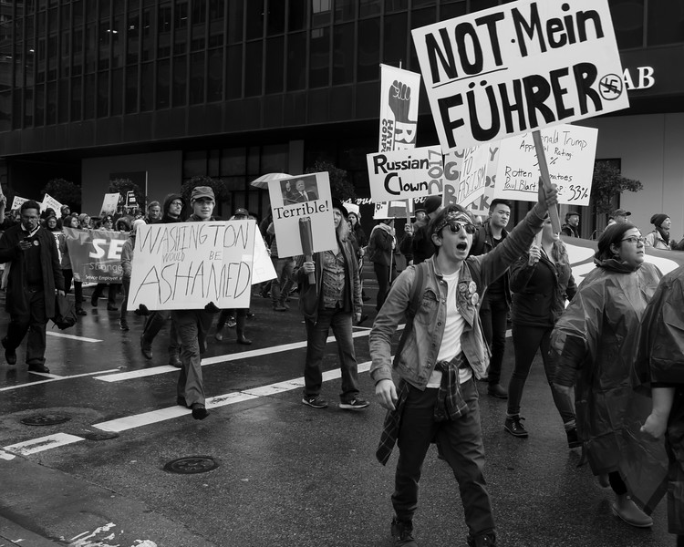 San Francisco Inauguration Protest March, 2017