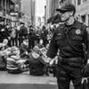 Street Demonstration: On Duty