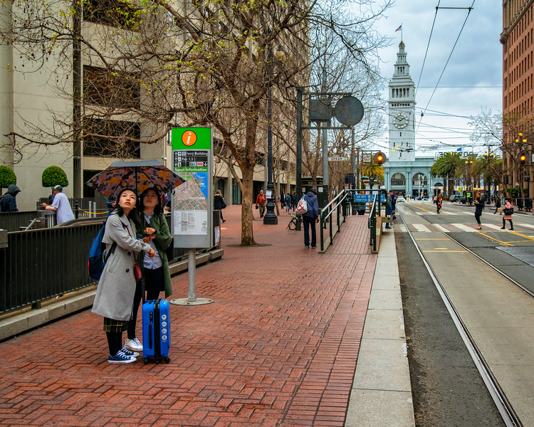Market Street near Ferry Plaza