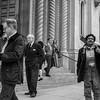 Post-Mass Congregants, Saints Peter and Paul Church
